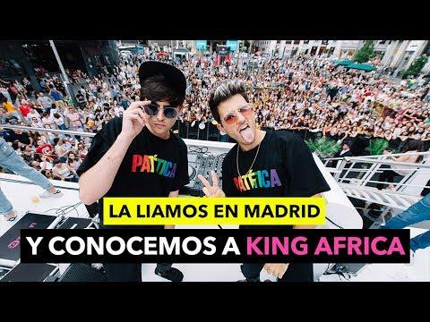 La liamos en MADRID y conocemos a KING AFRICA - The Tripletz Vlog