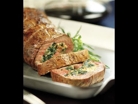 Spinach & Bacon Stuffed Beef Tenderloin | Price Chopper How-To