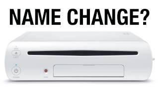 Wii U Name Change?! thumbnail