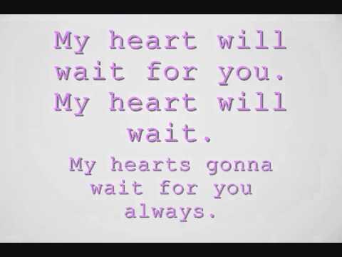 Joe Brooks My Heart Will Wait Lyrics