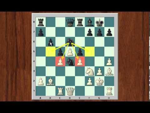 Clase de ajedrez online. Peón central pasado en el medio juego (y 2)