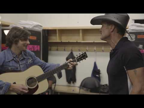 Backstage at Soul2Soul: Tim McGraw and Charlie Worsham cover Glen Campbell