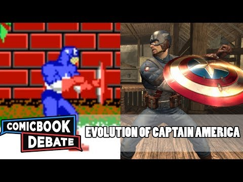 Evolution of Captain America Games in 4 Minutes (2017)