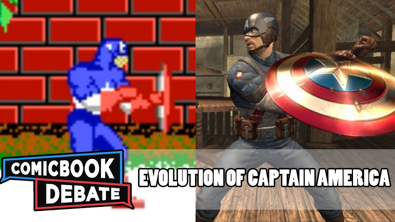 Evolution Of Captain America Games In 4 Minutes 2017