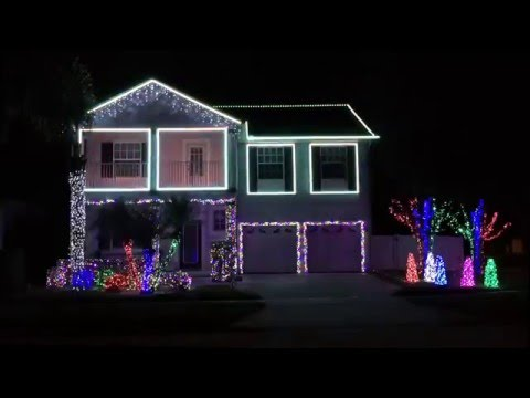 2015 - Yabba Dabba Yuletide (Lake Nona Lights)