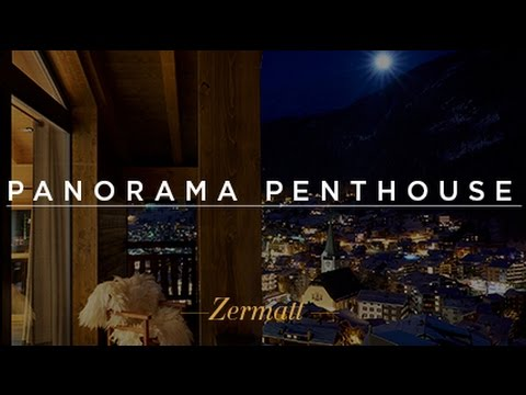 La Vue Panorama Penthouse - Luxury Ski Chalet Zermatt, Switzerland