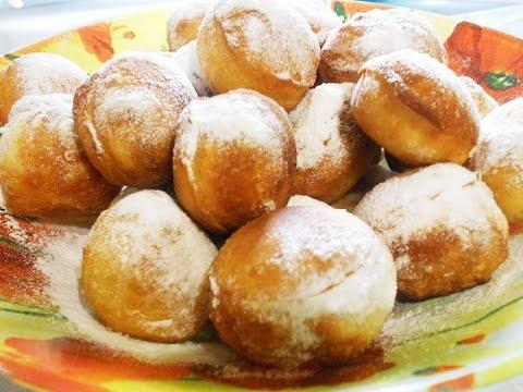 Пончики Пошаговый рецепт с фото