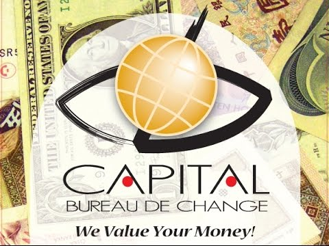 12 Aug 2016 - Capital Bureau De Change - Indicative Foreign Exchange Rates - Live Stream