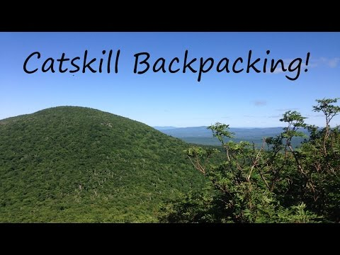 Northern Catskills Backpacking - Solo
