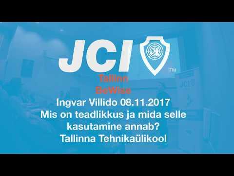JCI BeWise Ingvar Villido Tallinna Tehnikaülikool