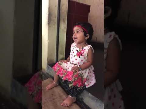 Cute Baby Singing Malayalam Song