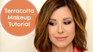 Dramatic Terracotta Makeup Tutorial
