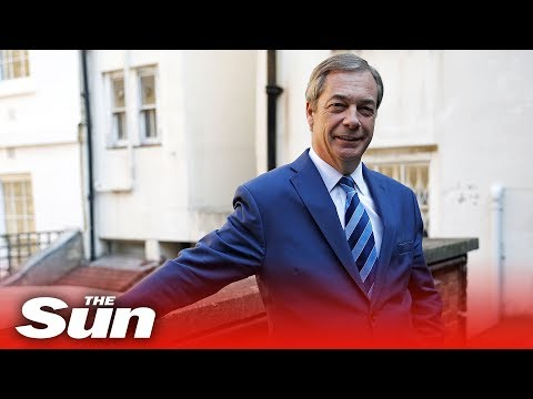Farage launches Brexit Party (FULL)