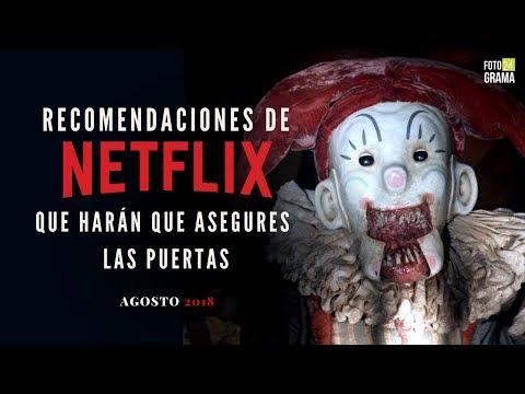 5 Recomendaciones de Terror en Netflix que te darán Escalofríos | Fotograma 24 con David Arce