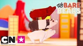"""Мультсериал """"Вся правда о медведях"""" поздравляет с Днем оригами!   Cartoon Network"""