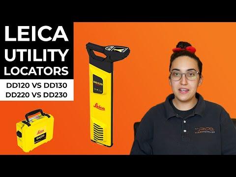 Leica DD Utility Locators - DD120 vs DD130 and DD220 vs DD230