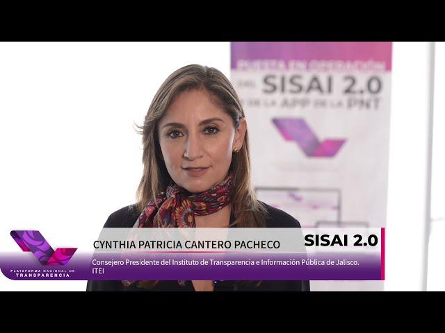 SISAI 2.0    Opinión de Cynthia Cantero Pacheco.