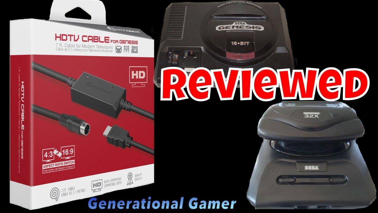 Hyperkin Sega Genesis HDMI Cable - Model 1, Model 2 and 32x Reviewed