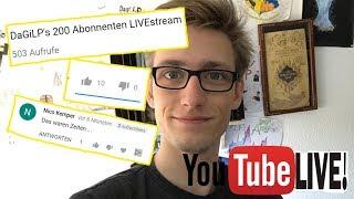 Reaction LiveStream auf meine GANZ ALTEN Videos :D