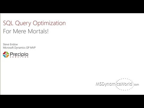 SQL Query Optimization for Mere Mortals!