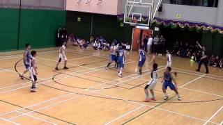 20150211 屯門學界籃球賽 B grade 冠軍戰 ~ 呂明才 vs 譚李麗芬
