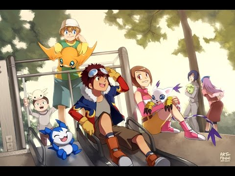 Digimon Adventure 2  versi Bahasa Indonesia | Ost Opening with lyrics #Nostalgia90an