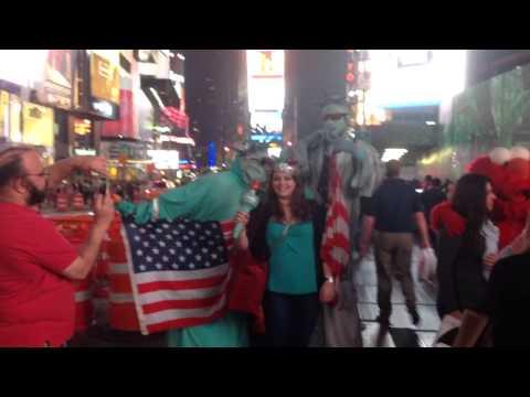 24 Hours Time Square, Broadway, Manhattan, New York. June 0.2014