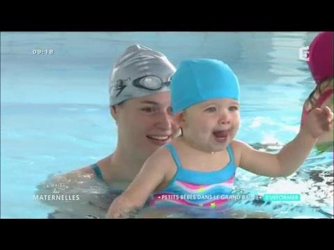 Bébés nageurs : comme des poissons dans l'eau.