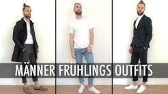 3 EINFACHE Frühlings Outfits für Männer ● Outfits kombinieren