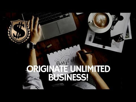 How to Cold Call.  The new tools we have to Originate Unlimited Business!