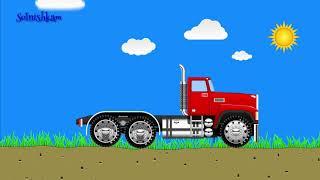 Машинки, собираем машинку грузовик Развивающий мультик для детей, смотреть онлайн.