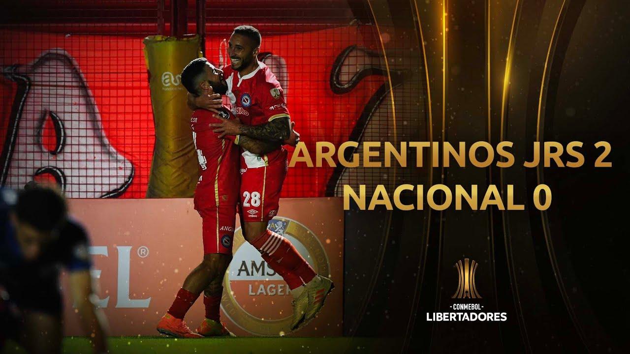 Архентинос Хуниорс  2-0  Насьональ Монтевидео видео
