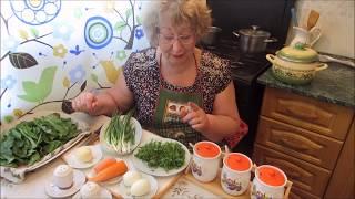 Щи зеленые из щавеля - море витаминов и вкуса