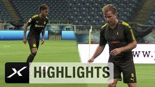 BVB-Stars Pierre-Emerick Aubameyang, Mario Götze & Co. in Action | Borussia Dortmund in Asien