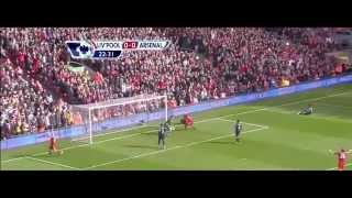Liverpool 1 -  2 Arsenal All Goals HD 03 03 2012