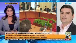Iohannis a semnat decretul privind înlocuirea lui Adrian Țuțuianu cu Marcel Ciolacu