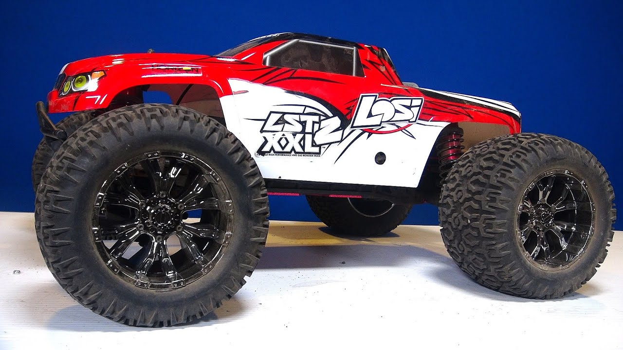RC ADVENTURES Losi LST XXL2 Gas Powered 4x4 Monster Truck Steering Repair