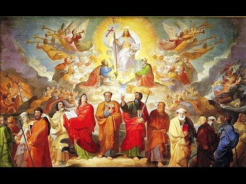 Ladainha de Todos os Santos, em Canto Gregoriano em Latim