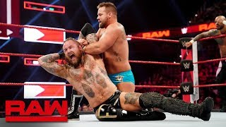 The Revival vs. Aleister Black & Ricochet - Raw Tag Team Championship Match: Raw, April 1, 2019