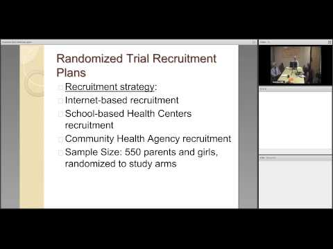 HPV Study Recruitment Webinar