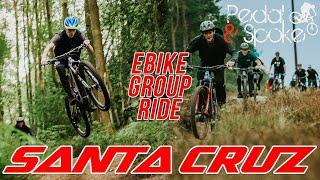 SANTA CRUZ E-BIKE GROUP RIDE / Pedal and Spoke - Peaselake