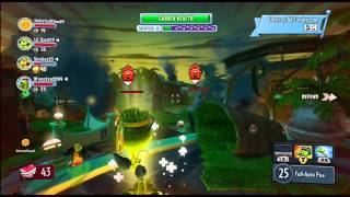 Plants Vs Zombies Garden Warfare Garden Ops Crash Course Night Commando Pea