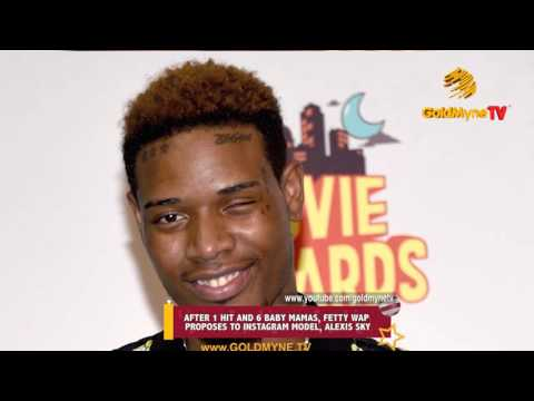AFTER I HIT AND 6 BABY MAMAS, FETTY WAP PROPOSES TO INSTAGRAM MODEL, ALEXIS SKY