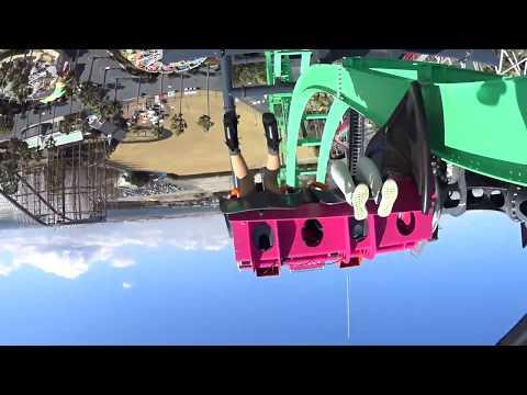 【Full HD】「嵐」(ARASHI) 新ジェットコースターがナガシマスパーランドに登場! 【1080p】
