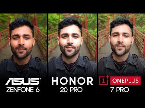 ASUS Zenfone 6 vs Honor 20 Pro vs OnePlus 7 Pro Camera Test Comparison!