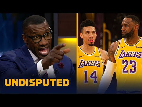 Shannon Sharpe reacts to Danny Green's comments about LeBron | NBA | UNDISPUTED
