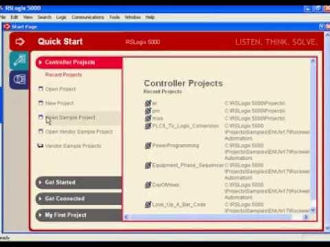 rslogix 5000 instruction set