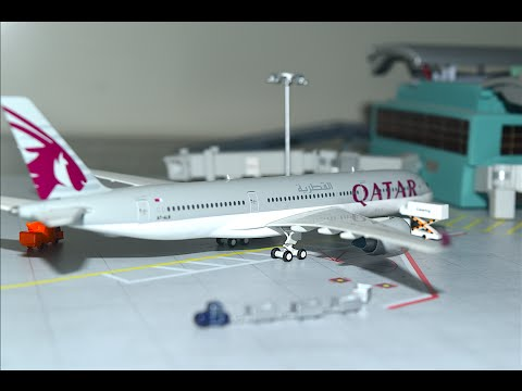 Gemini Jets 1:400 Qatar Airways A350-900XWB Unboxing and Review