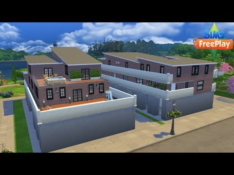 SIMS FREEPLAY PENTHOUSES (on The Sims 4)