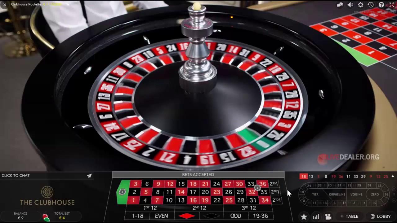 Live Roulette Online Demo